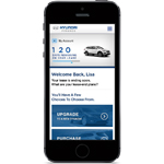 ChannelNet's personal microsite technology gives Hyundai customers the keys to control their own online experience from any device (Photo: Business Wire)