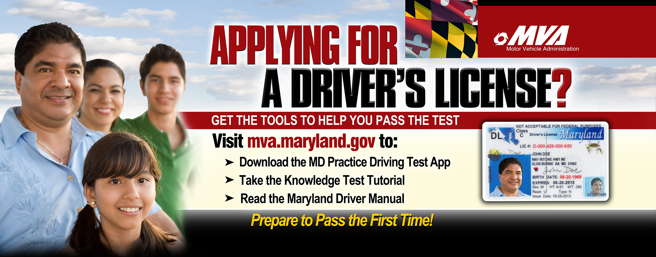 MD Practice Driving Test App (Graphic: Business Wire)