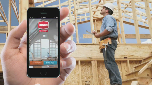 Hines's industry leading mobile application for construction customers.