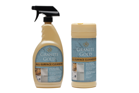 Granite Gold(R) All-Surface Cleaner Spray and Wipes (Photo: Business Wire)