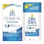 Dry Idea(R) Brand Introduces the Next Breakthrough in Antiperspirants & Deodorants With NEW! Dry Idea(R) Stain Clear(TM). (Photo: Business Wire)