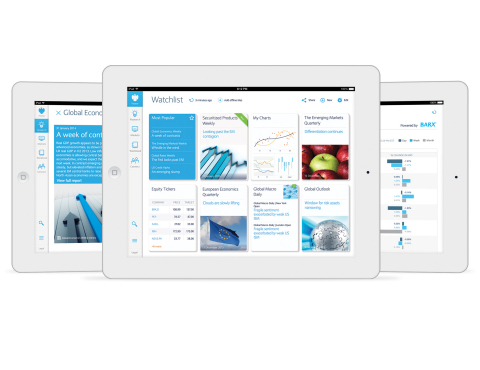 The new Barclays Live app for iPad (Photo: Business Wire)