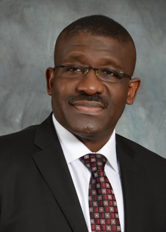 Waheed A Olagunju, directeur général par intérim / chef exécutif, à la Bank of Industry (BOI) (Photo ...
