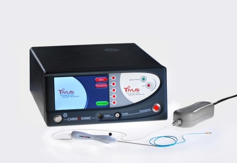 The TIVUS™ Generator and Catheter (Photo: Business Wire)