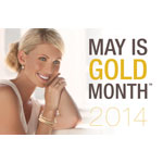 Share your love of gold at MayisGoldMonth.com (Graphic: Business Wire)