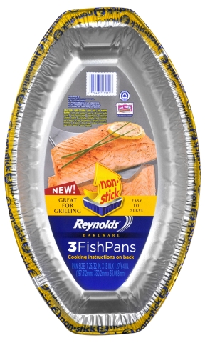 Reynolds(R) Disposable Bakeware: New Fish Pan (Photo: Business Wire)