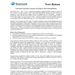 Trustmark Corporation Announces First Quarter 2014 Financial Results