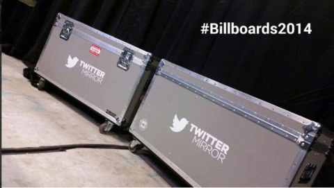 Twitter Mirror: Twitter will provide an inside look at the backstage and press room areas with autog ...
