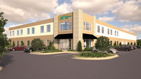 Rendering of the future Minuteman Press building in Owings Mills, Maryland. (Photo: Business Wire)