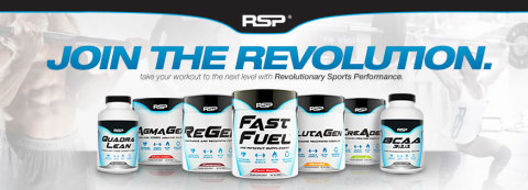 Bodybuilding.com, the fitness and supplement industry's leading online destination, recognizes RSP Nutrition as Supplement Company of the Month for April 2014. This prestigious award solidifies RSP Nutrition's position as a premier brand in the global sports nutrition marketplace. This award is a result of RSP Nutrition's commitment to manufacture premium quality, safe and effective nutritional supplements. RSP's product line is designed for athletes, fitness enthusiasts and everyday people seeking to live healthier, more active lifestyles. For more information on RSP Nutrition and their product line, visit their website at: www.rspnutrition.com (Graphic: Business Wire)