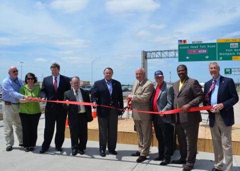 Fort Bend County officials recently celebrated the opening of optional toll overpasses on Grand Parkway. (Photo: Fort Bend County)