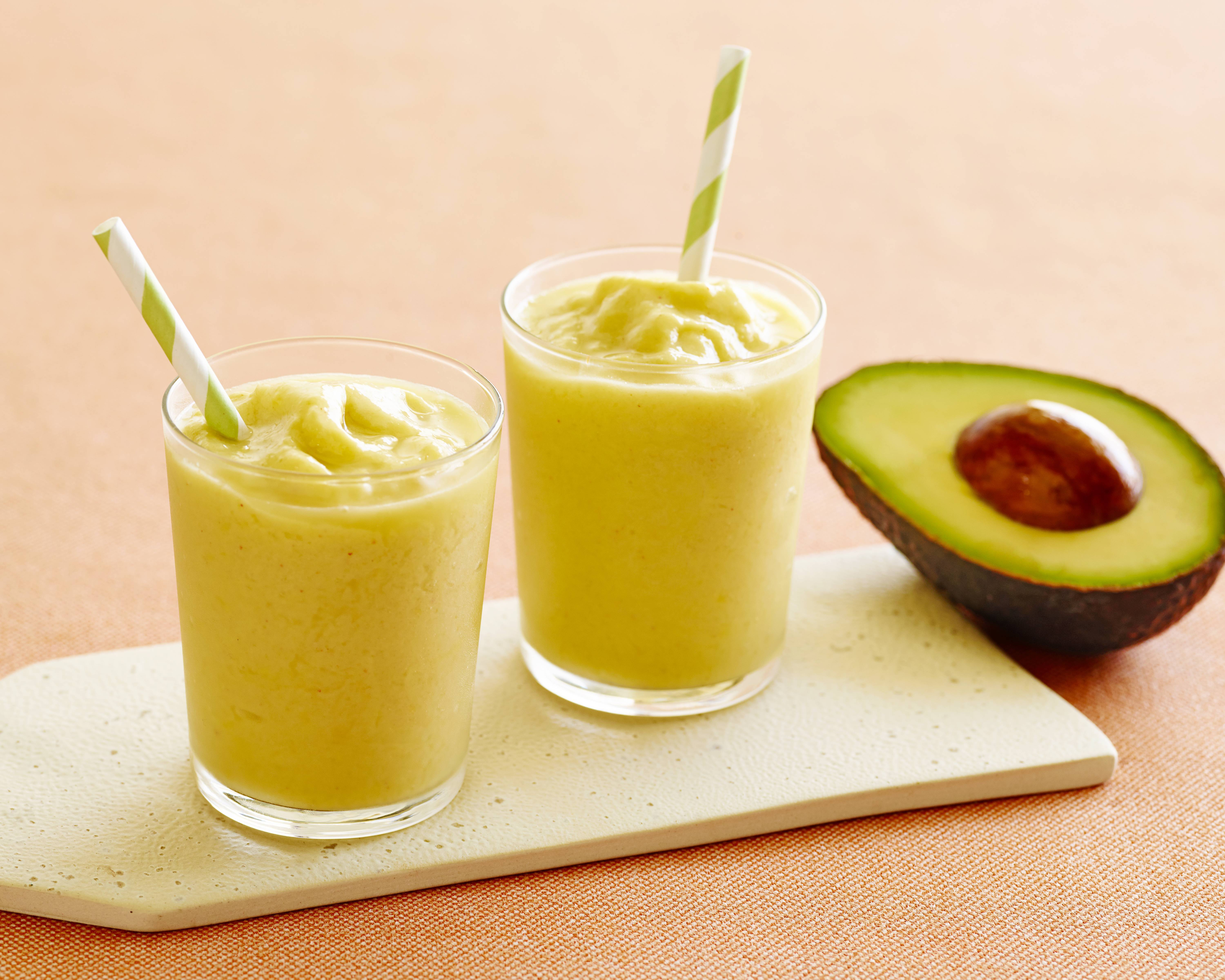 Power Hour Pick-Me-Up Smoothie, created by Katie Ferraro, MPH, RD, CDE for the California Avocado Commission (Photo: Business Wire)