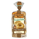 Thomas' Maple French Toast Bagels join the Cinnamon Vanilla English Muffins as one of this quarter's Limited Edition offerings. (Photo: Business Wire)