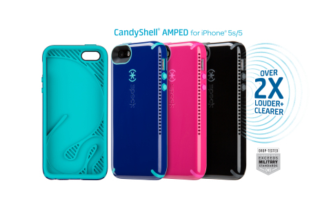 Speck CandyShell AMPED iPhone 5/5s Cases (Photo: Business Wire)