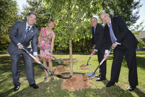 In celebration of National Arbor Day, the City of Dallas and Mary Kay Inc. dedicate the Mary Kay Ash ...