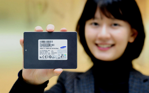 Samsung PM853T Solid State Drive (Photo: Business Wire)