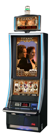 TITANIC video slots by Bally deliver an interactive and cinematic experience centered on the iconic star-crossed lovers from James Cameron's TITANIC, one of the highest-grossing films in history. (Photo: Business Wire)