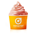 Orange Leaf Frozen Yogurt's Newest Flavor: Dairy Free Pink Lemonade (Photo: Business Wire)