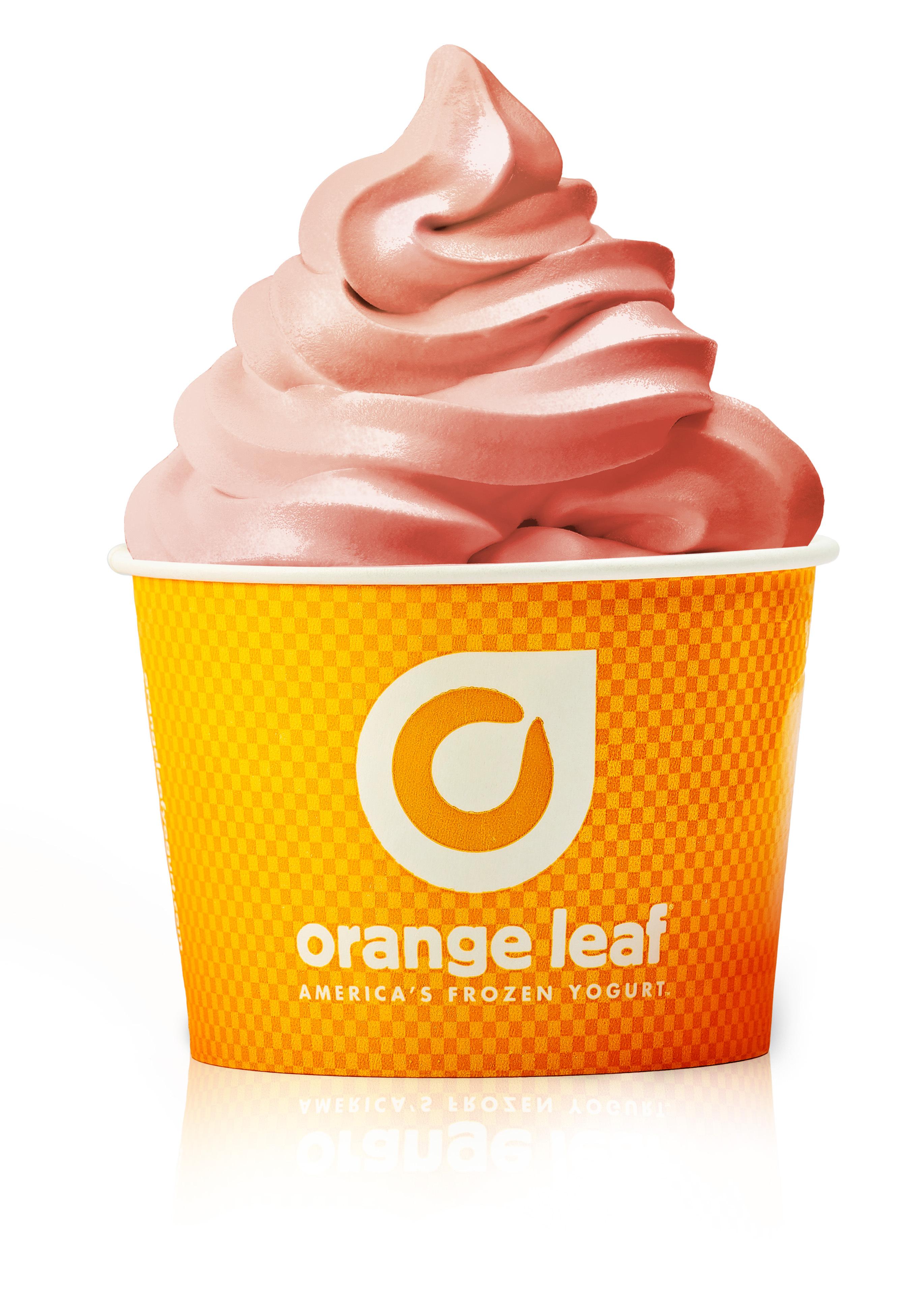 Orange Leaf Frozen Yogurt's Newest Flavor: Dairy Free Pink Lemonade (Photo: Business Wire)