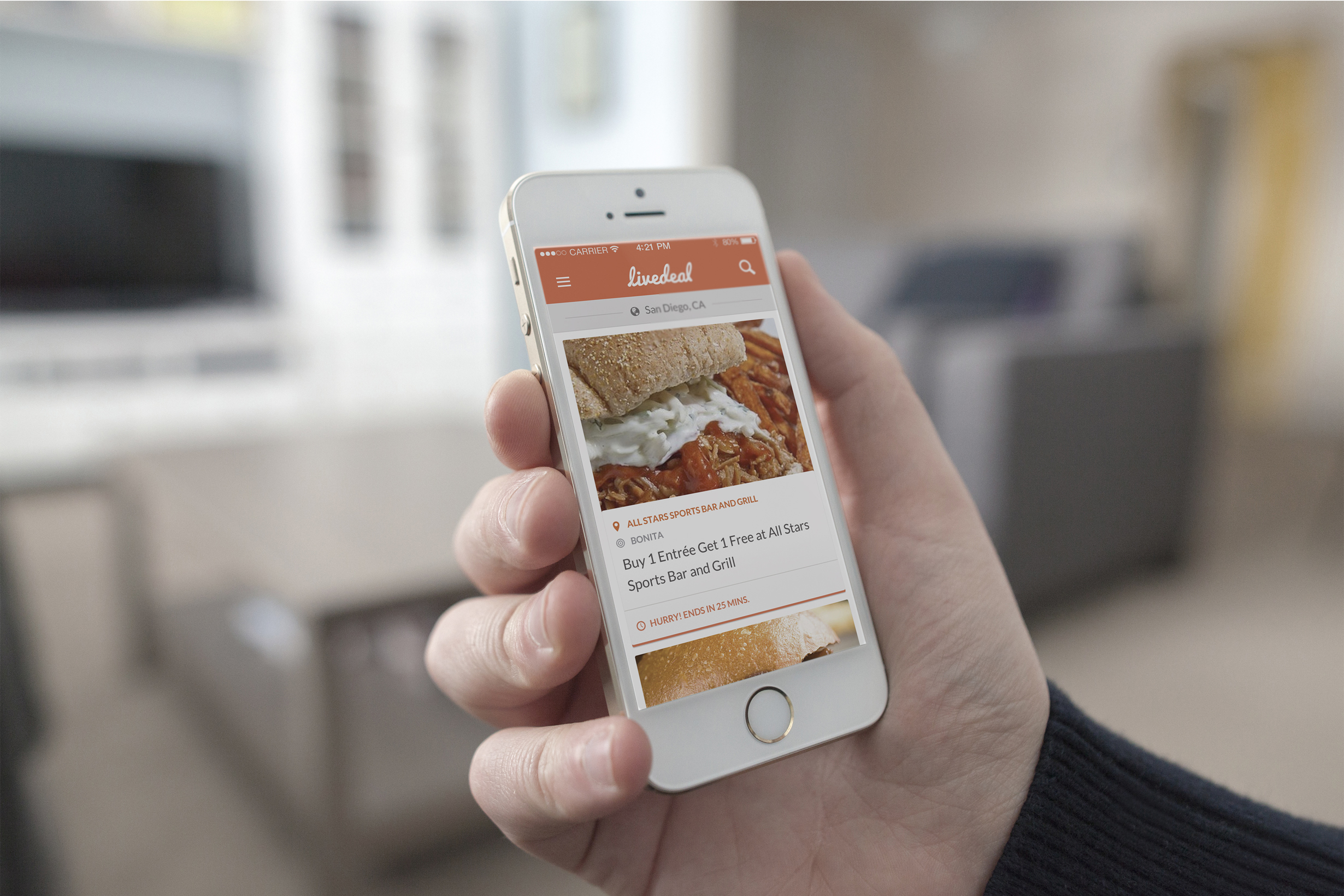 "LiveDeal.com - online ""real time"" mobile deal platform. (Photo: Business Wire)"