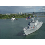 BAE Systems will repair, maintain, and modernize nine U.S. Navy destroyers and cruisers in Pearl Harbor, Hawaii. (Photo: U.S. Navy)