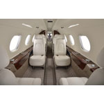 NetJets Signature Series Phenom 300 interior (Photo: Business Wire)