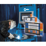 The new LiveArc(TM) reality-based training system is designed to recruit, screen, train and manage welding trainee performance - all via a live welding arc. (Photo: Business Wire)