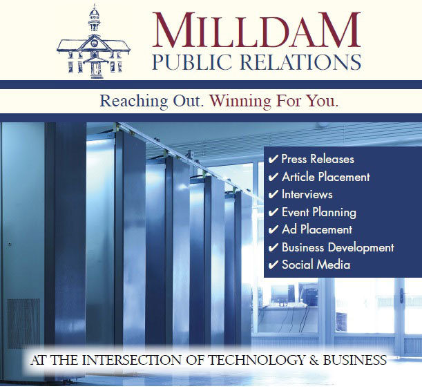 Milldam Public Relations to Exhibit at Data Center World (Graphic: Business Wire)