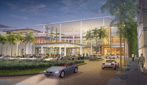 Rendering of the exterior of the Mall of San Juan. (Photo: Business Wire)