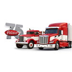 Peterbilt Model 334 (Built in 1939) and Model 579 (Photo: Business Wire)