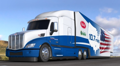 Peterbilt Model 579 SuperTruck (Photo: Business Wire)
