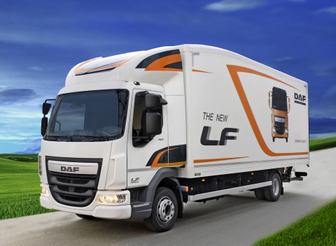 DAF's New LF Aerobody Truck (Photo: Business Wire)