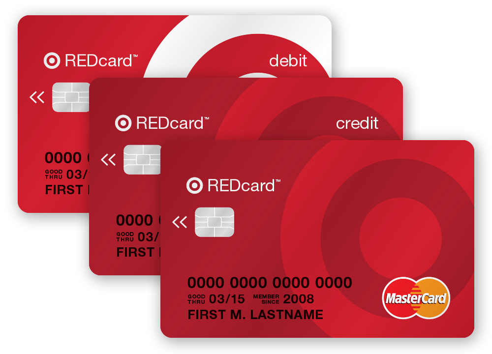In this photo released by Target, prototypes of new chip-enabled Target REDcards cards are shown. Target and MasterCard announced an agreement that will enable Target's entire REDcard portfolio to be protected by Chip-and-PIN technology starting in 2015. The REDcard portfolio includes proprietary Target debit and credit cards in addition to Target-branded VISA cards, which will move to MasterCard as part of the announcement. (Photo: Business Wire)