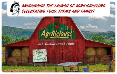 Agrilicious.org -- All Things Local Food (Graphic: Business Wire)