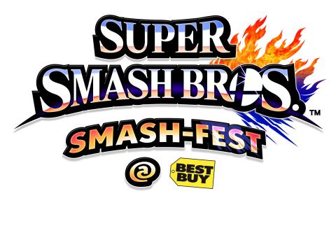 Super Smash Bros. Smash Fest @ Best Buy logo (Graphic: Business Wire)