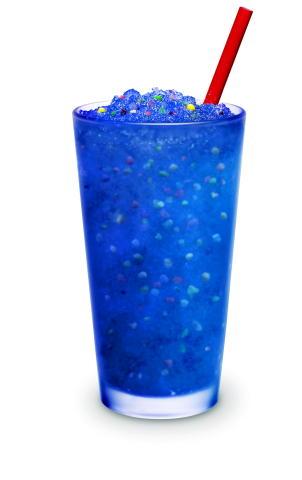 SONIC Drive-In Blue Raspberry Slush with NERDS (Photo: Business Wire)