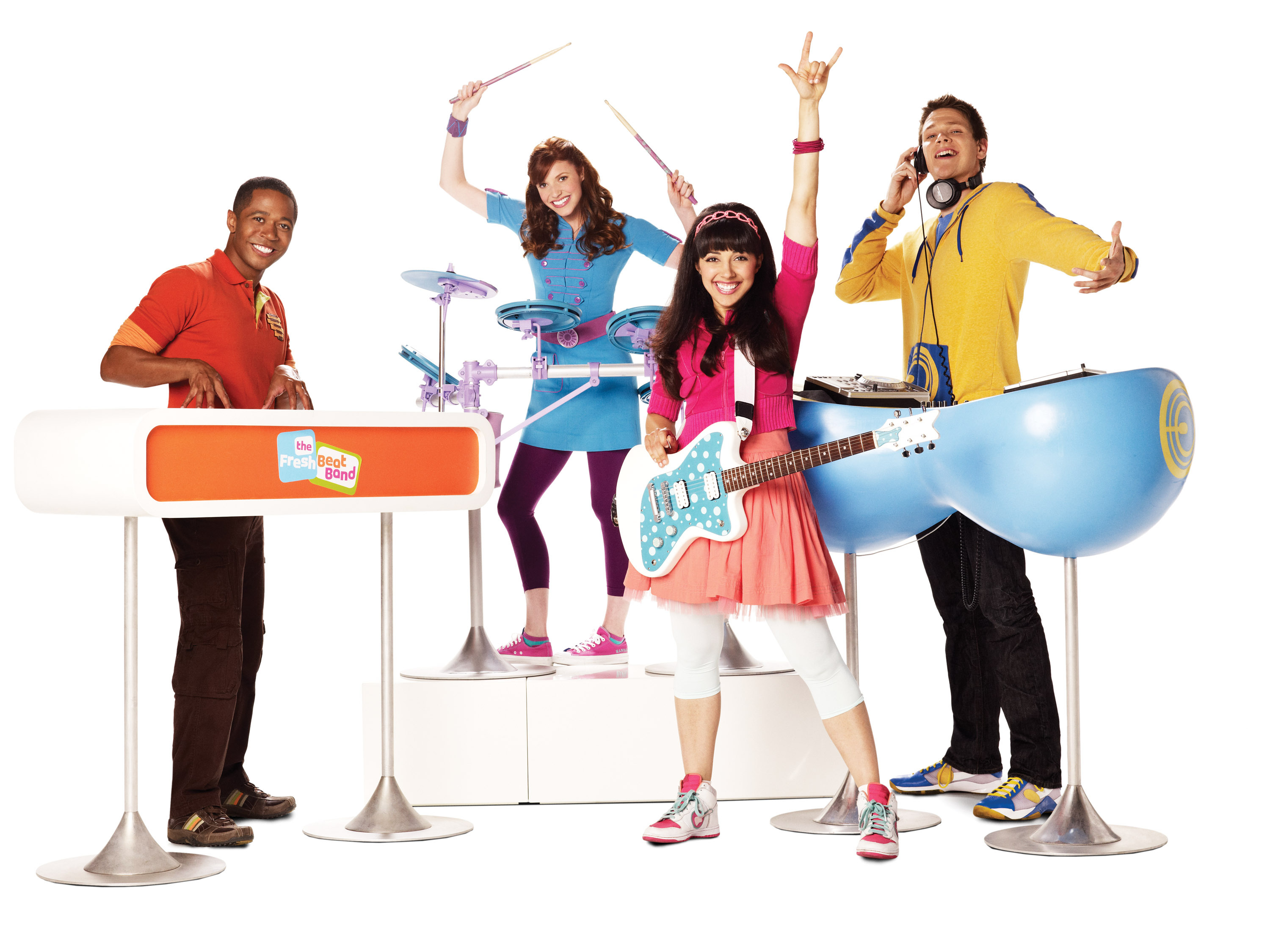 Nickelodeon's The Fresh Beat Band. Photo Credit: Nickelodeon