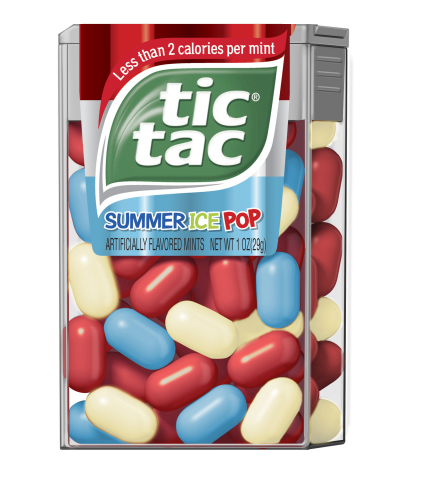 Summer Ice Pop Tic Tac(R) mints (Graphic: Business Wire)