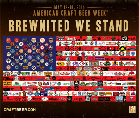 American Craft Beer Week (ACBW) celebrates small and independent brewers in all 50 states. (Graphic: Business Wire)