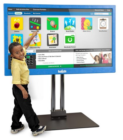 TeachSmart(R) preschool software for interactive whiteboards and multi-touch displays has been research-tested to increase a child's readiness to learn the reading and math skills required for success in school. (Photo: Business Wire)