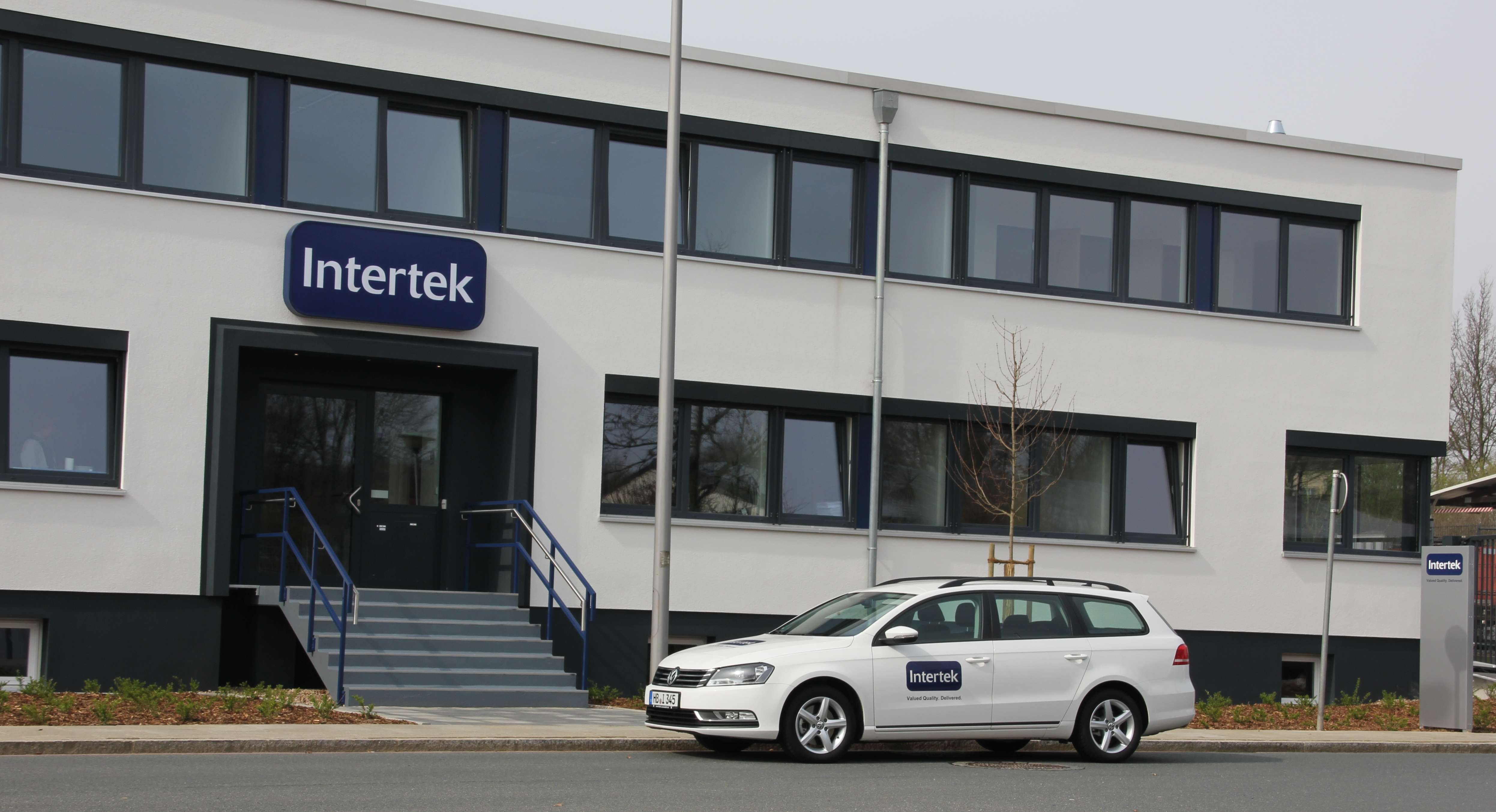 The new Bremen Intertek Food Services building (Photo: Business Wire)