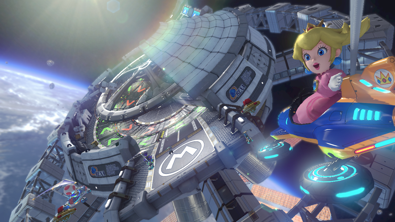 Up to 12 players can race together online in four different multiplayer modes, as long as everyone has a broadband Internet connection. (Photo: Business Wire)