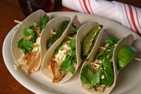 "Russell Lands On Lake Martin congratulates Kowaliga Restaurant on their Grilled Catfish Taco being selected by Food Network as Alabama's choice for the article ""50 States, 50 Tacos."" (Photo: Business Wire)"