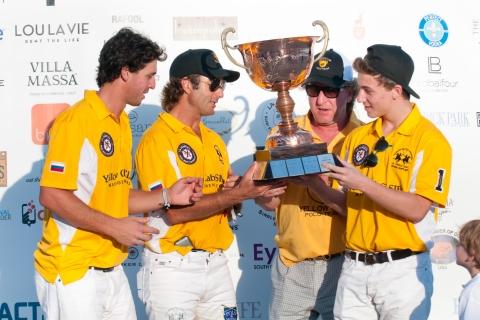(left to right) Tavi Usandizaga, Sebastian Merlos, Simon Garber, and Tyler Garber (Photo: Business Wire)