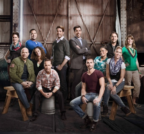 Meet this year's season two Brother vs. Brother contestants. (Photo: HGTV)