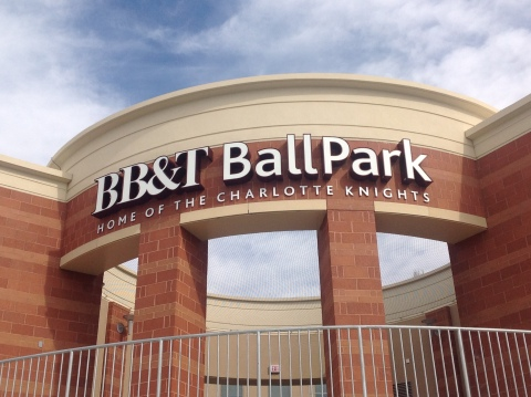 BB&T Ballpark - Home of the Charlotte Knights (Photo: Business Wire)
