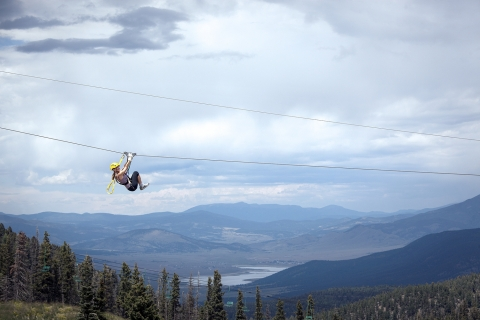 Angel Fire Resort in New Mexico launches The Adventure Pass which includes lodging, golf, mountain biking and a high-flying ride on one of the nation's highest Ziplines. (Photo: Business Wire)