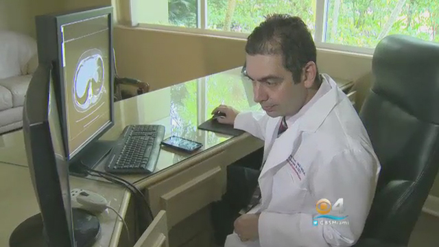Getting a Second Opinion Online Featured on CBS Miami.