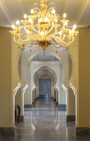 Lobby View at The Ajman Saray, a Luxury Collection Resort, Ajman (Photo: Business Wire)