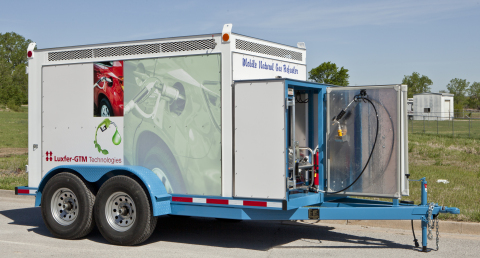 Mobile GTM1350-Refueler for high-pressure CNG (Photo: Business Wire)